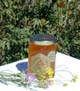 Honey 8 oz Glass Gift Jar - California Wildflower