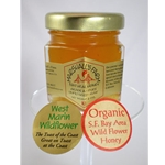 Honey 2 oz. Party Favor Glass Jar - West Marin Wildflower