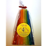 Honey Straw Pack - Rainbow Theme Flavored Honeys