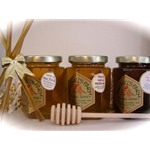 Honey 8 oz - 3 Pack w/ Honey Dipper