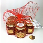 2 oz. 7 Pack in Red Net Gift Bag