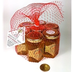 3 oz. 7 Pack in Red Net Gift Bag