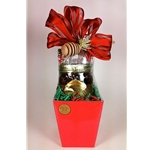 Pint Jar in Red or Gold Gift Box
