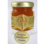 Honey 2 oz Party Favor Glass Jar - California Wildflower