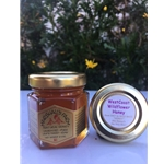 Honey 2 oz Star Thistle  Party Favor Glass Jar