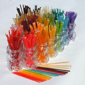 Honey Straws - Cases of 12 Bundles Case of 12 50-Straw Bundles~Natural  Honey Straws~10% discount
