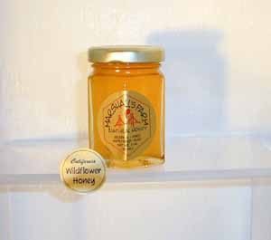 Honey 3 oz. Glass Jar Sampler - California Wildflower
