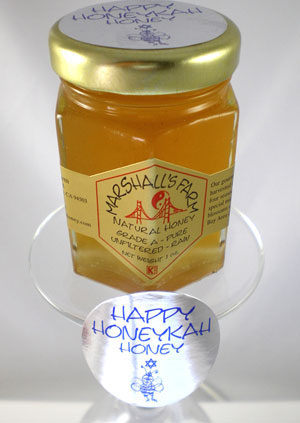 Honey 3 oz. Glass Jar Sampler - Happy HoneyKah