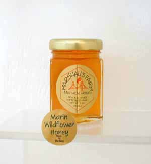 Honey 3 oz. Glass Jar Sampler - Marin Wildflower
