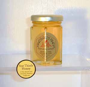 Honey 3 oz. Glass Jar  Sampler - Star Thistle