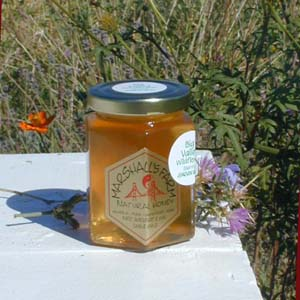Honey 8 oz. Glass Gift Jar - Big Valley Wildflower