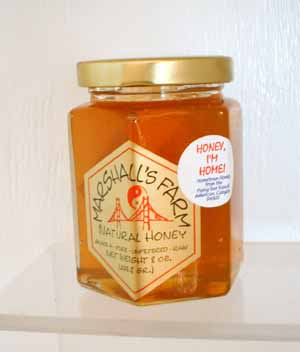 Honey 8 oz. Glass Gift Jar - Honey I'm Home