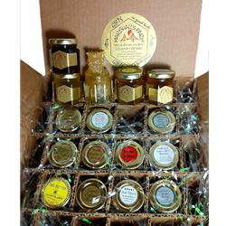 Honey 2 oz Jars 12 Pack Party Favor