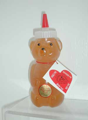 Honey 12 oz. Plastic Squeeze Bear - San Francisco Bay Area Blend