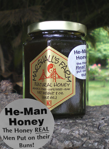 Honey 8 oz. Glass Gift Jar - He-Man