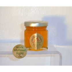 Honey 2 oz. Party Favor Glass Jar - Marin Wildflower