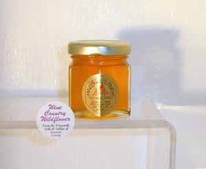Honey 2 oz. Party Favor Glass Jar - Sonoma Wildflower