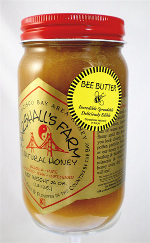 Honey 24 oz. Pint Glass Jar - Bee Butter