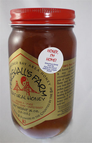 Honey 24 oz. Pint Glass Jar - Honey I'm Home