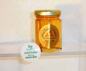 Honey 3 oz. Glass Jar Sampler - Big Valley Wildflower