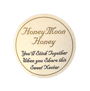 HoneyMoon Honey top label - 24 count