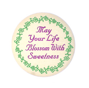 May Your Life Blossom With Sweetness top Label - 24 count