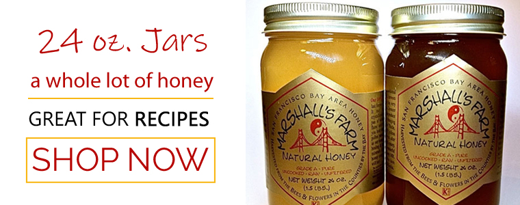Natural Raw Organic Honey for Sale from Marshall's Farm