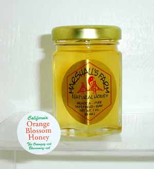 Honey 3 oz. Glass Jar Sampler - Orange Blossom