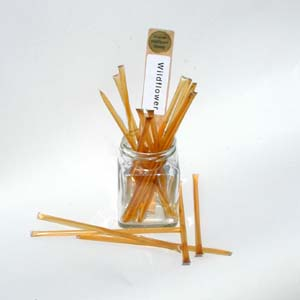 Honey Straws - Natural Wildflower Honey Stix