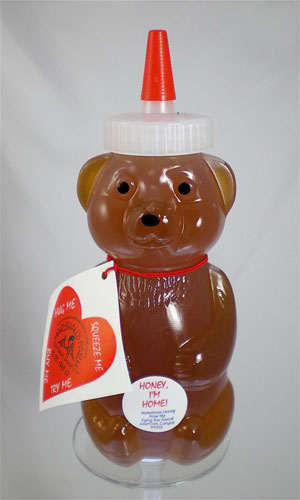 Honey 12 oz. Plastic Squeeze Bear - Honey I'm Home