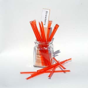 Honey Straws - Strawberry Honey Stix
