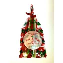 Honey Straw Pack - Christmas Theme Flavored Honeys