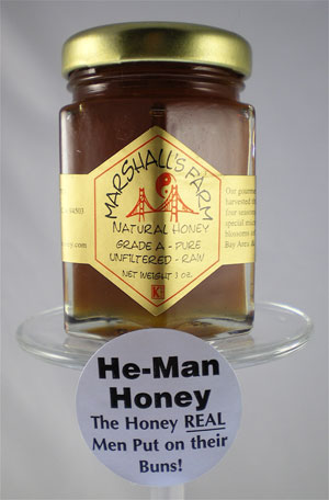 Honey 3 oz. Glass Jar Sampler - He-Man