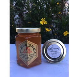 8 oz. French Laundry Garden Honey hexagonal glass Gift jar