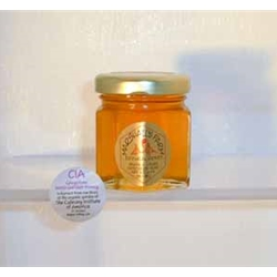 Honey 2 oz. Party Favor Glass Jar - CIA Greystone Herb Garden