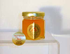 Honey 2 oz. Party Favor Glass Jar - San Francisco City Limits