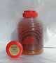 Honey 16 oz. Plastic Squeeze Skep Bottle - Marin Mix