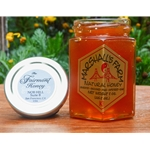 Honey 8 oz. Glass Gift Jar - Fairmont Hotel Honey ~ Nob Hill San Francisco