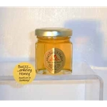Honey 2 oz. Party Favor Glass Jar - Buzzerkeley Wildflower